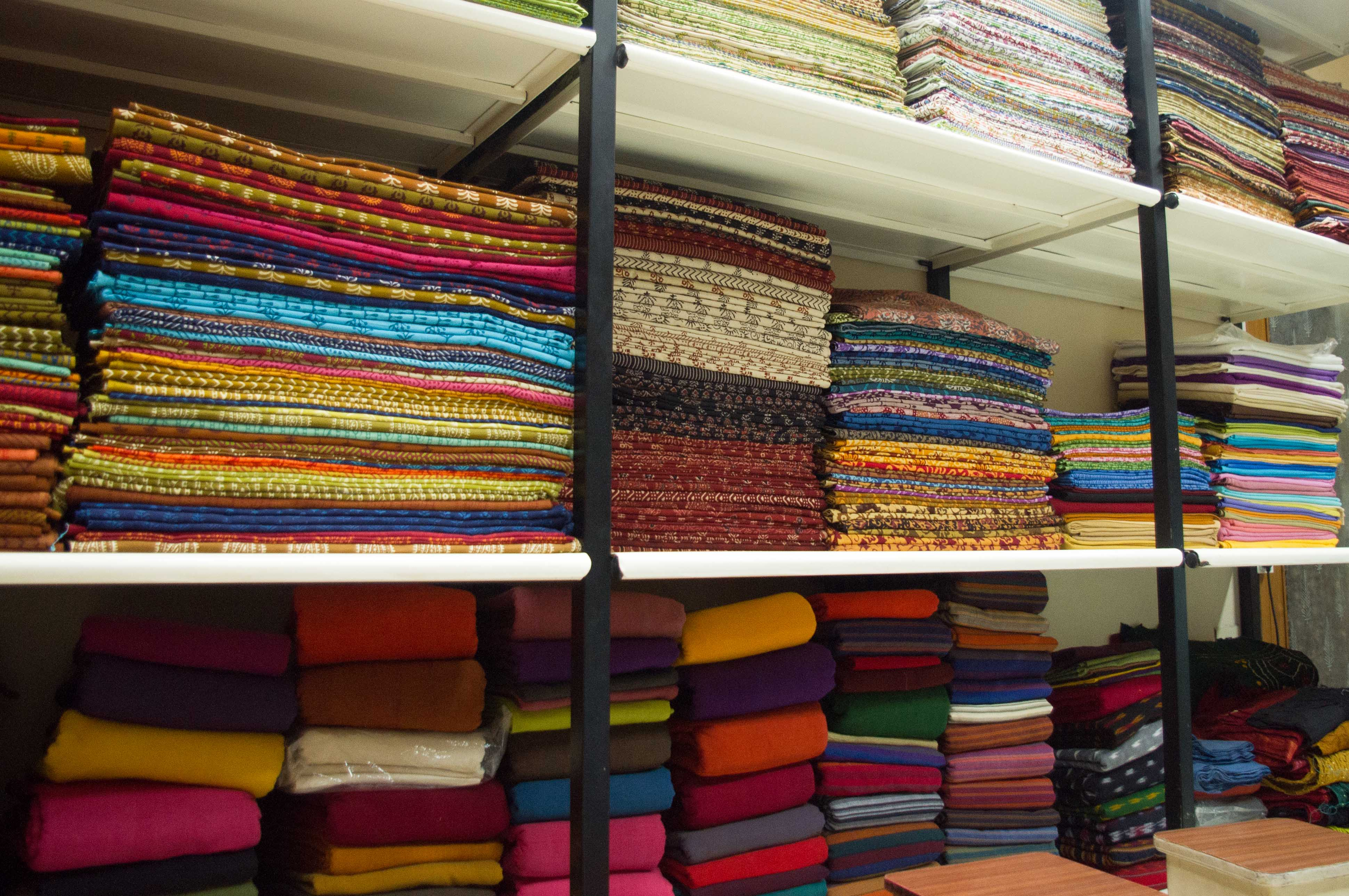 Fabric shopping ahmedabad the wander collection for Nearby boutiques